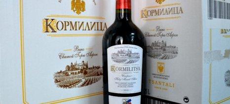 Στην 25η θέση το ελληνικό κρασί στη ρωσική αγορά