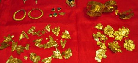 Κοσμήματα της ρωμαϊκής εποχής έκρυβε αρχαιοκάπηλος στην Ημαθία