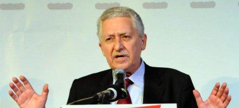 """Φ.Κουβέλης: """"Ο ΣΥΡΙΖΑ δεν μπορεί να αναλάβει μόνος του τις τύχες της χώρας"""""""