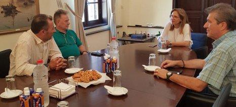 Ελεγκτικό «σαφάρι» στην Κρήτη από τον ΟΠΕΚΕΠΕ για τα επιλέξιμα βοσκοτόπια - Στην Αποκεντρωμένη Διοίκηση μετέβη ο Καπρέλης