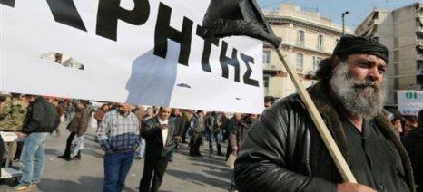 """Αλαλούμ με τον """"διάλογο"""" από τις οργανώσεις της Κρήτης - συνεχίζονται τα μπλόκα"""