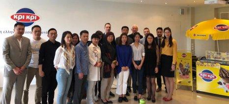 Η Κρι Κρι επεκτείνει τις εξαγωγές των παγωτών της στην κινεζική αγορά
