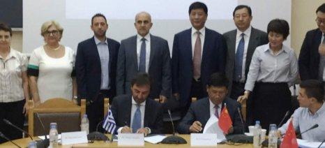 Σύμφωνο συνεργασίας για αγροτικά προϊόντα και άλλους τομείς μεταξύ Κρήτης και κινεζικής επαρχίας Χαϊνάν