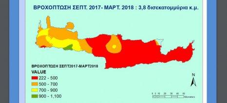 Πιο κάτω και από το ρεκόρ ανομβρίας του 1990 βρίσκεται η Κρήτη