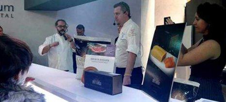 Ο κρόκος Κοζάνης στην έκθεση παγωτού στο Pίμινι της Ιταλίας