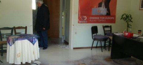 Ρέθυμνο: Εισβολή αγροτοκτηνοτρόφων στα γραφεία του ΣΥΡΙΖΑ