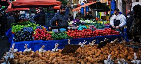 Παράταση μέχρι τις 31 Μαρτίου για τις άδειες πωλητών λαϊκών αγορών