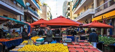 Κατά περίπτωση θα εξετάζονται οι ασφαλιστικές ενημερότητες για τις άδειες λαϊκών αγορών