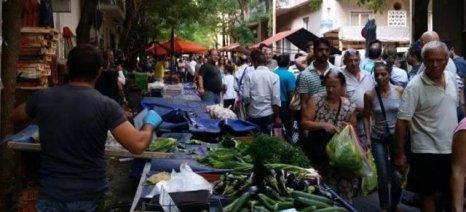 Ξεσήκωσε αντιδράσεις η προτεινόμενη κατάργηση του ειδικού καθεστώτος για τους πωλητές λαϊκών αγορών