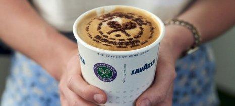 Η Lavazza συμμετέχει για ένατη συνεχή χρονιά στο Wimbledon