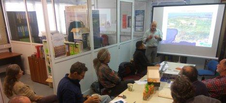 Σε εξέλιξη πρόγραμμα του Life+ για τη βελτίωση των πράσινων υποδομών στον ελαιώνα της Μεσαράς