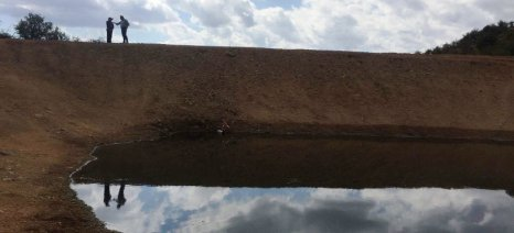 Λιμνοδεξαμενή κατασκευάστηκε στο Φωτεινό Καλαμπάκας για τις ανάγκες σε αρδευτικό νερό