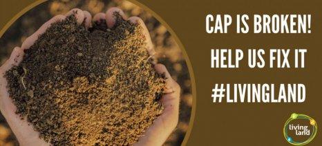 #LivingLand: Μεταρρύθμιση της ΚΑΠ υπέρ του περιβάλλοντος ζητούν πάνω από 140 οργανώσεις