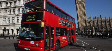 Με βιοκαύσιμο από τα υπολλείμματα καφέ θα λειτουργούν τα λονδρέζικα λεωφορεία