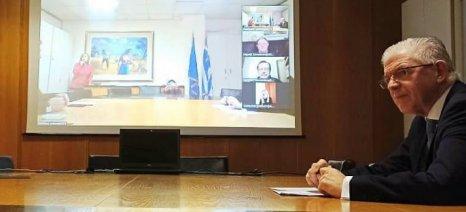 Δεύτερη παρτίδα αποζημιώσεων ΕΛΓΑ υπόσχεται ο Λυκουρέντζος τη Μεγάλη Τετάρτη