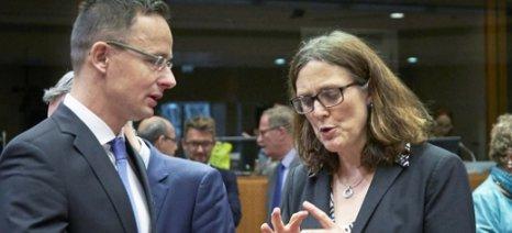 Νέα μεθοδολογία αντιντάμπινγκ από την Ε.Ε. - κλείνουν μέχρι το τέλος του έτους τρεις διεθνείς εμπορικές συμφωνίες