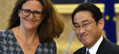 Οριστικοποιείται η εμπορική συμφωνία ΕΕ-Ιαπωνίας - προστασία της φέτας και άλλων 204 προϊόντων ΠΟΠ