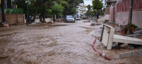 Καυγάς στη Βουλή για τις νέες πλημμύρες στη Μάνδρα