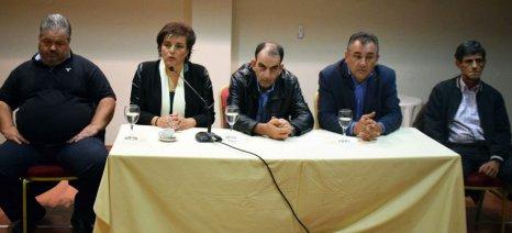 Απόψε θα μιλήσει στους Χανιώτες ο Μαρούδας για τα αιτήματα της Πανελλαδικής Επιτροπής των Μπλόκων