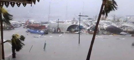 Ολέθριο το πέρασμα του τυφώνα Ίρμα