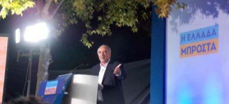 """Μεϊμαράκης: """"Εμείς τον αφανισμό των αγροτών δεν θα τον επιτρέψουμε"""""""