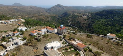 Στα εγκαίνια διαμόρφωσης του οικισμού Μητάτων στα Κύθηρα εκπροσώπησε την κυβέρνηση ο Τσιρώνης