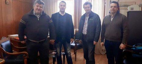 Συνάντηση του Αντιπεριφερειάρχη Αγροτικής Ανάπτυξης με τον Πρόεδρο του ΤΕΙ Δυτικής Ελλάδας