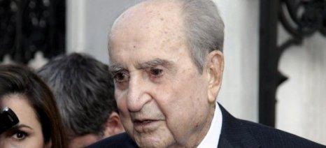 Με τιμές εν ενεργεία πρωθυπουργού η κηδεία του Κωνσταντίνου Μητσοτάκη