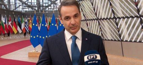 Σε προσφυγικό, ανάπτυξη και αγρότες εστίασε ο πρωθυπουργός κατά την άφιξή του στη Διάσκεψη Κορυφής για τον προϋπολογισμό της Ε.Ε.
