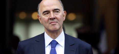 Επιλογή της ελληνικής κυβέρνησης ήταν ο ΕΦΚ στο κρασί λέει ο Μοσκοβισί
