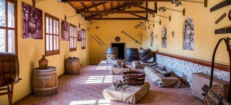 Επισκέψιμο το Μουσείο Οίνου του ΕΟΣ Σάμου από τον Μάιο