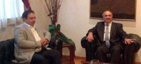 Τα προβλήματα των αγροτών στην Ημαθία συζήτησαν Μπόλαρης-Βοργιαζίδης