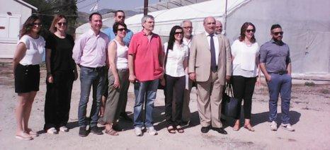Παραγωγικές μονάδες στη Μαγνησία επισκέφθηκε ο Μπόλαρης