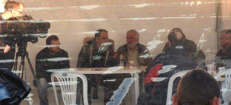 Δείτε σε απευθείας μετάδοση τη συνέντευξη τύπου της Πανελλαδικής Επιτροπής των Μπλόκων από την Αθήνα
