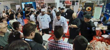 Η ΕΔΟΚ παρουσίασε το Ελληνικό κρέας με την σφραγίδα της Μπριγάδας των chef στην Food Expo 2019