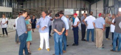Εγκαινιάστηκε χθες το νέο εργοστάσιο ντομάτας της Δ. Νομικός ΑΒΕΚ στα Φάρσαλα