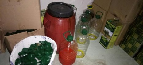 Εντοπίστηκε συσκευαστήριο νοθευμένου ελαιόλαδου στην Ημαθία