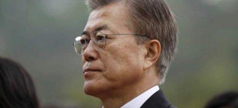 Πρόεδρος Νότιας Κορέας: Η κατάσταση με τη Βόρεια Κορέα μπορεί να γίνει απρόβλεπτη
