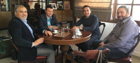Συνάντηση Νυφούδη με τους οινοπαραγωγούς Βορείου Ελλάδος-Στο τραπέζι ο Ειδικός Φόρος