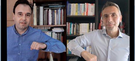 Η Παπαστράτος στη «Συμμαχία ευθύνης και αλληλεγγύης» της Κ.Ε.Δ.Ε. για την αντιμετώπιση της πανδημίας
