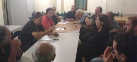 Συλλαλητήριο Ομοσπονδίας Αγροτικών Συλλόγων Λέσβου στις 30 Μαΐου