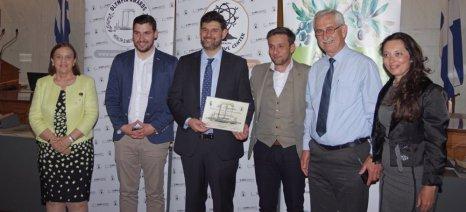 """Σπουδαίες ανακοινώσεις για τις ευεργετικές ιδιότητες του ελαιολάδου στα διεθνή βραβεία """"Olympia health and nutrition"""""""
