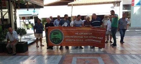 Παράσταση διαμαρτυρίας πραγματοποίησε στον ΕΦΚΑ Τρίπολης η ΟΑΣΠΠ