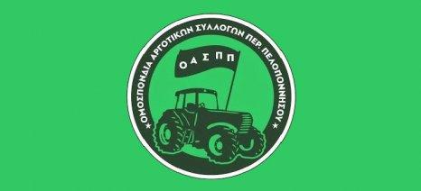 Στο συλλαλητήριο κατά του συνεδρίου για την παραγωγική ανασυγκρότηση στην Τρίπολη θα συμμετέχει η ΟΑΣΠΠ