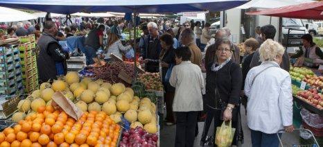 Προτάσεις για την λειτουργία λαϊκών αγορών από την Θεσσαλική Ομοσπονδία παραγωγών