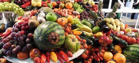 Θα συνεχιστούν τα προγράμματα έκτακτης στήριξης των παραγωγών φρούτων και λαχανικών