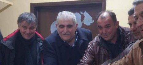 Τα Δελέρια Τυρνάβου επισκέφθηκε ο Νίκος Παπαδόπουλος και συζήτησε με αγρότες