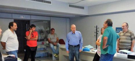 Επίσκεψη Γ. Παπαηλιού στον ΕΛΓΑ της Τρίπολης
