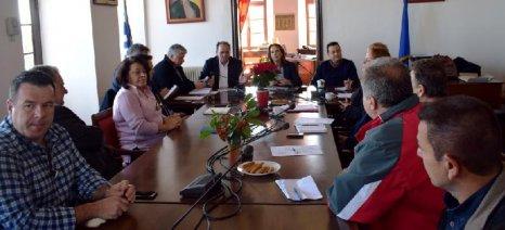 Με αγροτικούς και άλλους τοπικούς φορείς του δήμου Ζαγοράς-Μουρεσίου συναντήθηκε η Παπανάτσιου