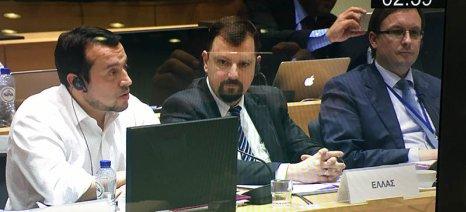 Μεγαλύτερη ευελιξία στην κρατική χρηματοδότηση για υποδομές τηλεπικοινωνιών ζήτησε ο Παππάς από τις Βρυξέλλες